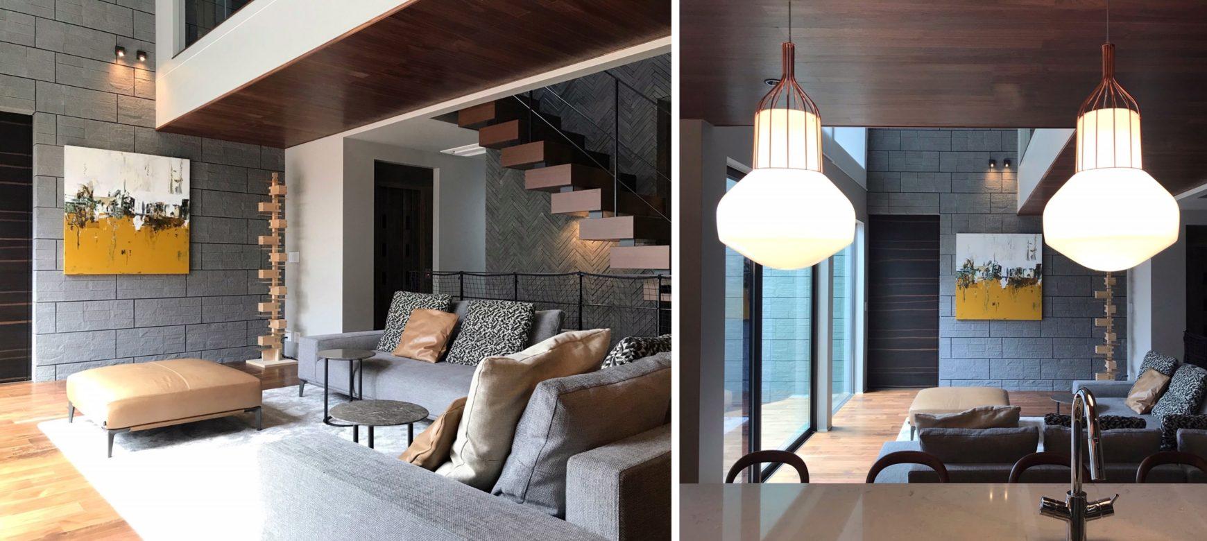 ミノッティの家具とアート
